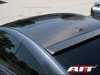 Carbon Fiber roof overlay For 2008-2012 Infiniti G37 Coupe