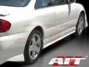EVO Style Side Skirts For Honda Accord 1998-2002 Coupe