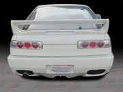 CB Style Rear Bumper Cover For Acura Integra 1990-1993