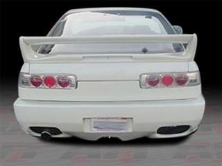 CB Style Rear Bumper Cover For Acura Integra 1990-1993