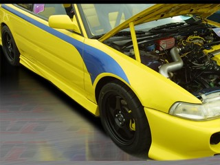 Extreme Style Side Skirts For Acura Integra 1990-1993