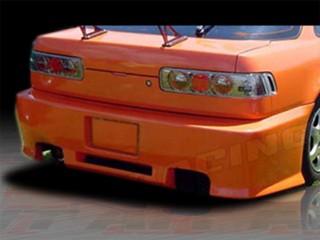 Revolution Style Rear Bumper Cover For Acura Integra 1990-1993 Coupe