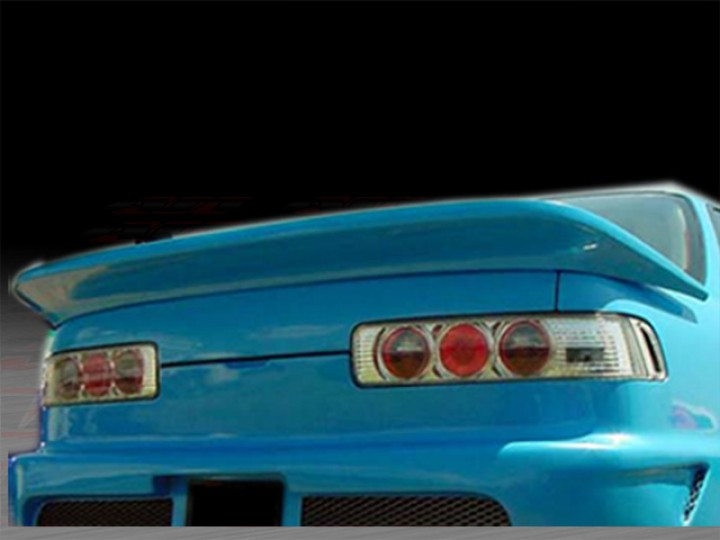 Revolution Style Rear Spoiler For Acura Integra Coupe - Acura integra spoiler