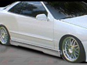 EVO4 Style Side Skirts For Acura Integra 1994-2001 Sedan
