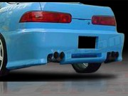 Revolution Style Rear Bumper Cover For Acura Integra 1994-2001