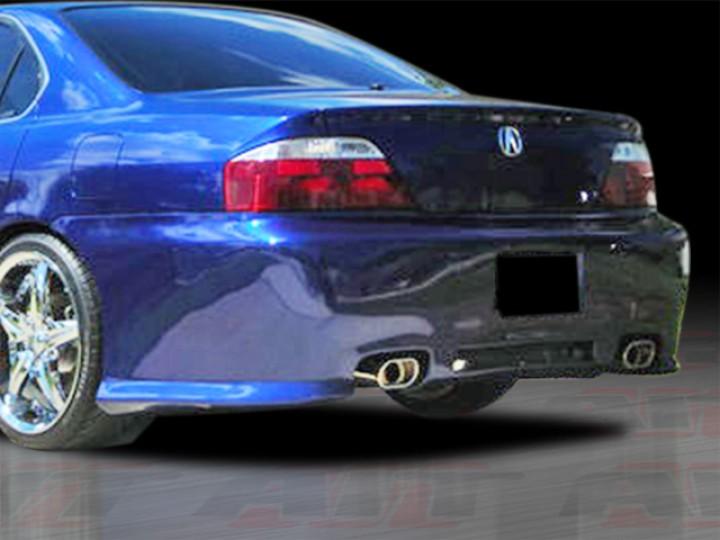 REV Style Rear Bumper Cover For Acura TL - Acura tl bumper
