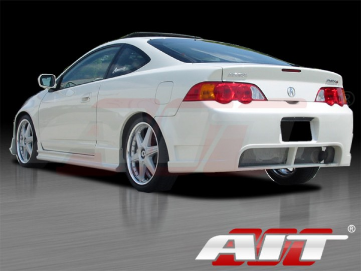 bcn 2 style side skirts for acura rsx 2002 2006