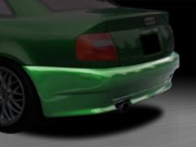 AVS Style Rear Skirts For Audi A4 1996-2001