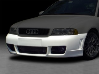 RS4 Style Front Bumper Cover For Audi A4 1996-2001