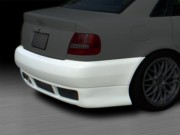 RS4 Style Rear Bumper Cover For Audi A4 1996-2001