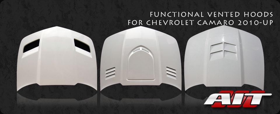 Hoods for Chevrolet Camaro 2010