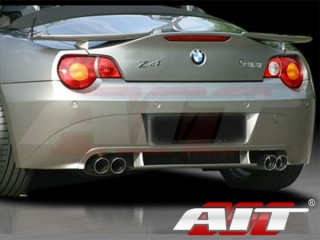 H-Tech Style rear apron For BMW Z4 2002-2005