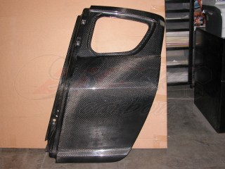 Racing spec Carbon Fiber doors (rear) For Mazda RX-8 2003-2012