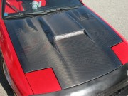 Battle Series Carbon Fiber Hood For Mazda RX-7 1986-1991