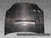 N1 Series Carbon Fiber Hood For Honda Civic 1996-1998