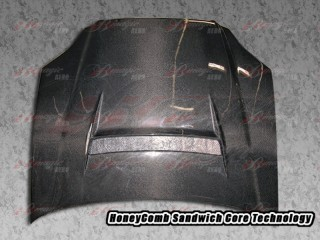N1 Series Carbon Fiber Hood For Honda Civic 1996-1998
