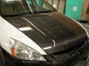 OEM Style Carbon Fiber Hood For Honda Accord 2003-2007 Coupe