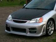 OEM Style Carbon Fiber Hood For Honda Civic 2001-2003