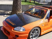OEM Style Carbon Fiber Hood For Honda Del Sol 1993-1997