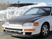 OEM Style Carbon Fiber Hood For Honda Civic 1988-1991 Sedan