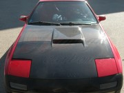 OEM Style Carbon Fiber Hood For Mazda RX-7 1986-1991 Turbo II