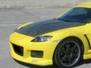 OEM Style Carbon Fiber Hood For Mazda RX-8 2003-2009