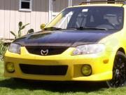 OEM Style Carbon Fiber Hood For Mazda Protege 2000-2003