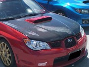 OEM Style Carbon Fiber Hood For Subaru Impreza 2006-2007