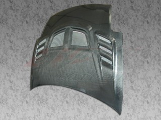 R1 Series Carbon Fiber Hood For Mitsubishi Eclipse 2000-2005
