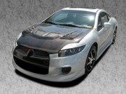 R1 Series Carbon Fiber Hood For Mitsubishi Eclipse 2006-2012