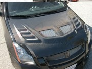 R1 Series Carbon Fiber Hood For Nissan Sentra 2007-2010