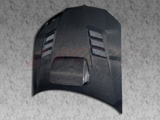 R1 Series Carbon Fiber Hood For Subaru Impreza 2004-2005