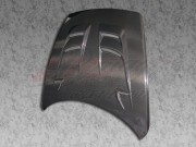 RAIDEN Series Carbon Fiber Hood For Mazda RX-8 2003-2008