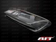 STi Style Carbon Fiber Hood scoop For Subaru Impreza 2004-2005