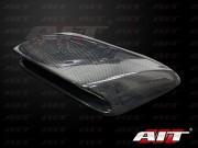 STi Style Carbon Fiber Hood scoop For Subaru Impreza 2006-2007