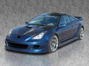 TRD supercharger Carbon Fiber Hood For Toyota Celica 2000-2005