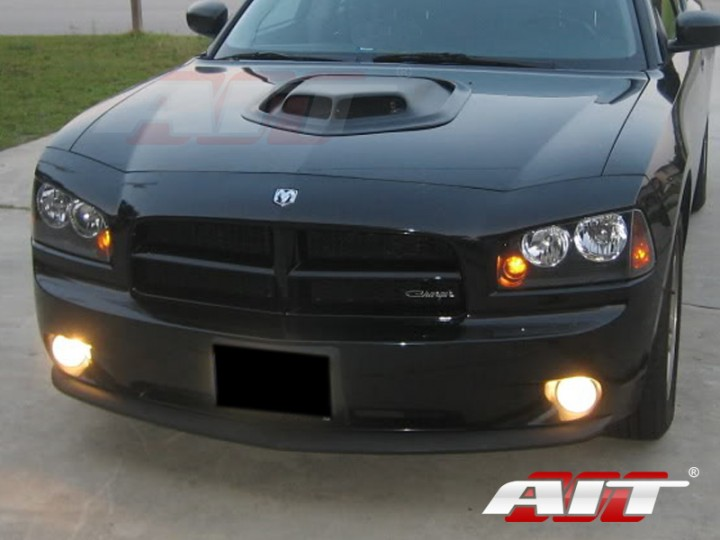 Shaker Style Functional Ram Air Hood For Dodge Charger