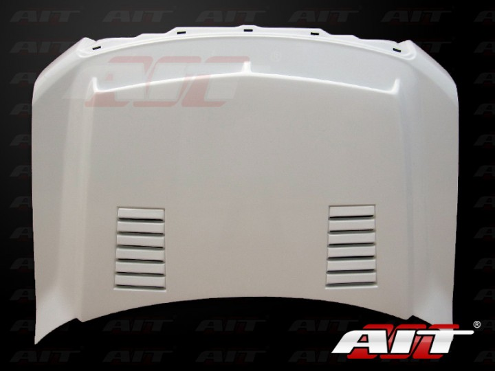 Type-E Style Functional Ram Air Hood For Ford F150 2009-2013