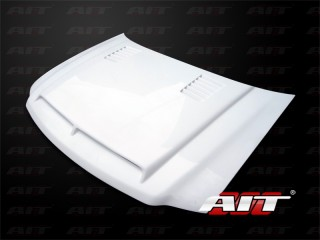 Type-E Style Functional Ram Air Hood For Ford F150 1997- 2003