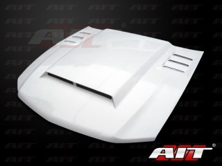 Type-R Style Functional Ram Air Hood For Ford Mustang 2010-2012