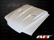 Type-3 Style Functional Cooling Hood For Ford Mustang 1987-1993