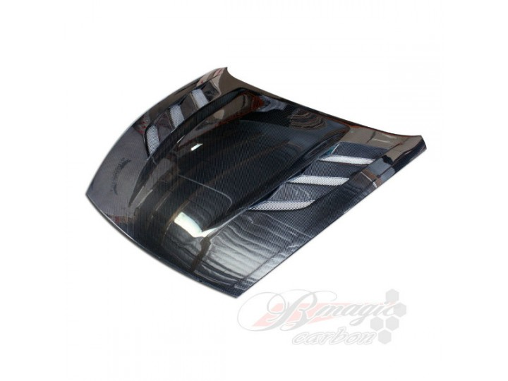 AMS Style Carbon Fiber Hood For Nissan 370Z 2009 2015