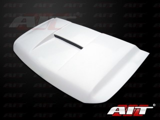 Type-S Style Functional Ram Air Hood For Nissan Titan 2004-2013; Armada 2004-2013