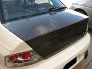 OEM Style Carbon Fiber trunk lid For Mitsubishi Evolution 2003-2007