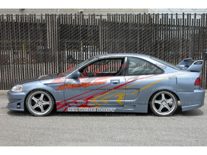 Nx Series Wide Body Kit For Honda Civic 1996 1998 Coupe