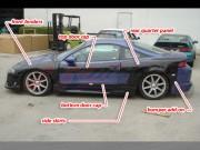 NX Series wide body For Mitsubishi Eclipse 1995-1999