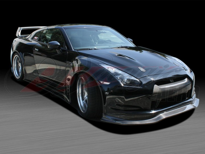 Wide Body Kit For Nissan Gt R R35
