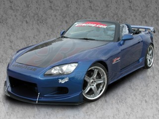 GT-3 Series wide body kits For Honda S2000 2000-2009