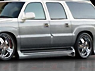 EXE Style Side Skirts For Cadillac Escalade ESV 2002-2006