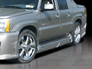 EXE Style Side Skirts For Cadillac Escalade EXT 2002-2006